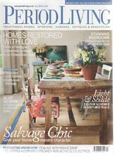 PERIOD LIVING MAGAZINE July 2010 Salvage Chic AL