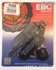 Kawasaki VN1500 (1999 to 2004) EBC Kevlar FRONT Brake Pads (FA229) (1 Set)