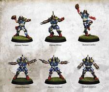Games Workshop: Blood Bowl Nuevo 2016 X 6 jugadores jugadores de reserva humana