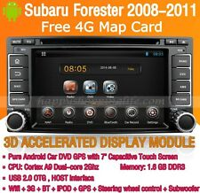 Android Car DVD Player Radio GPS WIFI 3G Bluetooth for Subaru Forester 2008-2011