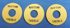 3 NEW CREAM RHYTHM AND TREBLE 3 POSITION SWITCH RING FOR GIBSON GUITAR or import