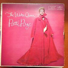 PATTI PAGE-THE WALTZ QUEEN-MONO LP-MERCURY-20318-VG+