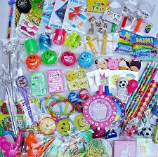 60 GIRLS BOYS TOYS + 60 FREE TATTOOS Party Bags Fillers Pinata Teachers Rewards