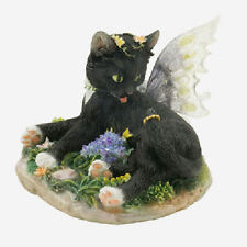 Fairy Cat Faerie Glen Faerie Tails FGC6751 Zoe 2007 Black Cat  Figurine