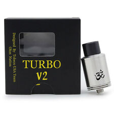Turbo V2 ATTY RDA Rebuildable Dripping Atomizer RDA RBA Vaporizer Tank