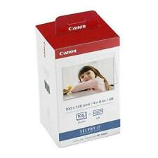 KIT cartucce/carta ORIGINALE Canon KP-108IN Value Pack per Selphy CP-780