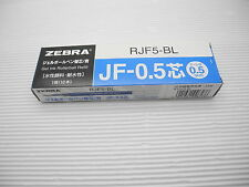 10pcs Zebra sarasa JF-0.5mm roller ball pen Blue only refill(Japan)