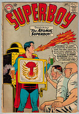 SUPERBOY #115 1964 DC SILVER-AGE COMIC Low Grade Reading Copy ATOM BOMB COVER