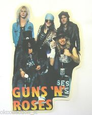 VECCHIO ADESIVO ORIGINALE / Old Original Sticker band GUNS 'N' ROSES (cm 9x14)