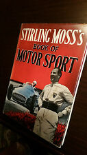 STERLING MOSS'S BOOK OF MOTOR SPORT, racing maserati grand prix 1955