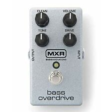 USED DUNLOP MXR M-89 BASS OVERDRIVE EFFECTS PEDAL w/ FREE CABLE 0$ US SHIPPING