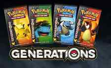 Pokemon TCG XY Generations Booster Pack Lot - 4 Loose Unsearched Sealed Packs