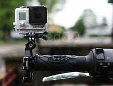 3 way pivot Seatpost Handlebar mount for Go Pro HERO 2 3 Mountain Bike Motocross