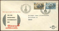Netherlands 1965 ITU Centenary FDC First Day Cover #C27217