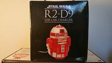 Star Wars R2-D9 Red Droid Robot Figure Tablet Phone Electronic 2 USB Car Charger