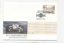 China Macau 2016 Grand Prix Formula Car Racing Car Cover C641