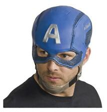 MARVEL CIVIL WAR DELUXE Licensed CAPTAIN AMERICA Helmet MASK COSTUME Prop