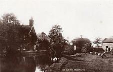 The Old Mill Hellingly Nr Hailsham RP old pc used 1917 W Brooker