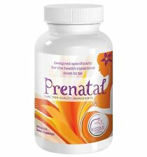Prenatal Vitamins - Natural Pregnancy Supplement and Women's Vitamin 60 Capsules