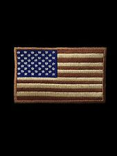 USA AMERICAN FLAG TACTICAL US ARMY MORALE MILITARY BADGE DESERT CAM VELCRO PATCH