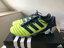 Adidas predator Adipower 45 1/3 uk 10,5 us 11 trx FG Neuf New Mania Leather