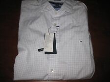 NWT MENS TOMMY HILFIGER CASUAL LONG SLEEVE BUTTON DOWN SHIRT medium m navy