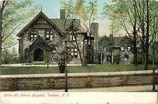 A View of St John's Hospital, Yonkers NY 1907