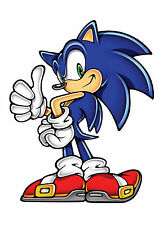 Sonic the Hedgehog Iron On Transfer Sonic 2