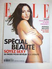 Magazine mode fashion ELLE French #2862 6 novembre 2000 Monica Bellucci