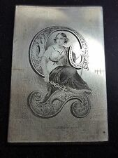 American Bank Note Co. Liberty of Commerce Engraved Steel Printing Plate