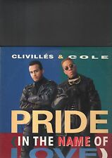 CLIVILLES & COLE - pride (in the name of love) EP 12""