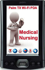 2016 MEDICAL NURSING PALM TX T/X WIFI PDA DRUG GUIDE PEPID NCLEX RN EXAM Q&A DVD