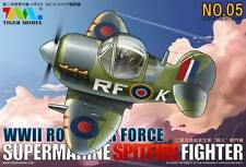 Tiger Model (Cute Scale) #105 WWII British Royal Air Force Supermarine Spitfire