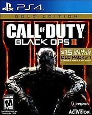 PS4 Call of Duty Black Ops 3 FACTORY SEALED (Location 41-A3)