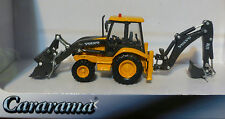 Atlas HO #30000093 Volvo BL71 Backhoe Loader - Assembled -- Yellow, Black