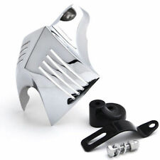 Chrome Twin Horn Cover for Harley-Davidson Touring Male Peg Mount 1 Set New us