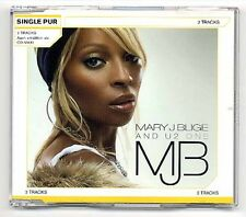 U2 and Mary J Blige Maxi-CD One - German only 2-track CD SINGLE PUR series