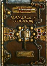 D&D - Dungeons & Dragons Ed 3.5: Manuale del Giocatore - Base I - ITA USATO Suff