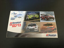 AUTOCOLLANT BF GOODRICH TIRES VICTORY TOUR 1 GOODIES RALLYING RALLYE