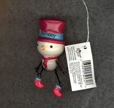 Snowman Christmas Tree Ornament by Russ-Decoration-Stocking Stuffer-ANTHONY