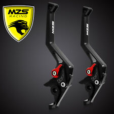 MZS Brake Clutch Levers For Kawasaki Versys/NINJA 650R (ER-6f ER-6n) 09-13 Black