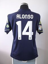 Xabi ALONSO #14 BNWT Real Madrid Away Football Shirt Jersey 2012/13 (L)