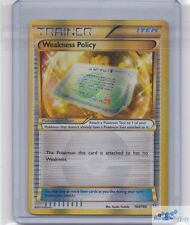 Weakness Policy Holo Secret Rare POKEMON XY PRIMAL CLASH 164/160 ULTRA RARE CARD