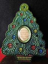 HALLMARK ORNAMENT 1981 Christmas Tree Photo Holder
