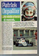 MA112-Clipping-Ritaglio 1978 Patrick Depailler