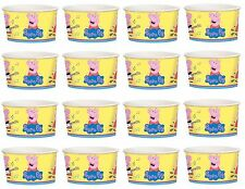 16 Peppa Pig Cartoon Yellow Birthday Party 9.5oz Paper Treat Cups