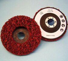 10 CSD-tejidos-triángulo lija 115 x 22 rojo XTR-coarse nylonkeks disco de limpieza