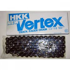 F/S HKK Vertex Track Bicycle Chains 1/2 X 1/8 BLACK / BLUE From Japan bike