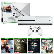 Xbox One S 500GB Battlefield 1 Console + Fallout 4 + Dishonored 2 + Battleborn