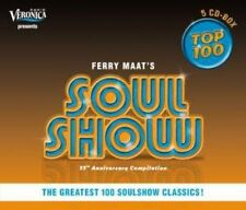 Vol. 1-Soulshow Top 100 - Soulshow Top 100 (2008, CD NIEUW)5 DISC SET